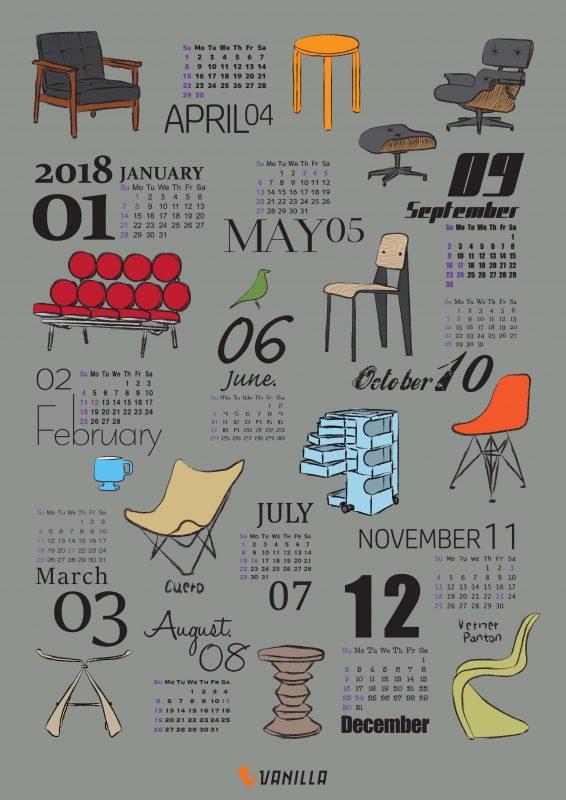 オリジナルポスターカレンダーを販売します