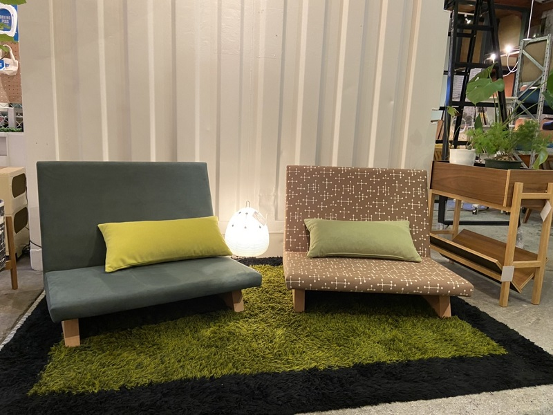 FLANNELSOFA「BRICK」「SIESTA」「PIVO」3種の座り心地の違いを紹介します!